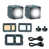 Lume Cube 2.0 - Pack de 2 Herramientas de iluminación (750 Lux, 5600ºK) Color Negro