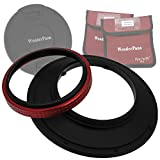 WonderPana 145 Adaptador de Filtros 145mm con Tapa de Lente para el Lente Olympus 7-14mm f/4.0 Zuiko ED Zoom (Olympus-4/3 Formato)