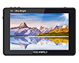 FeelWorld LUT7 - Monitor de 7' FHD (2200nits, Touch Screen, High Contrast 1200:1, High Resolution 1920 x 1200, 3D LUT) Negro