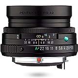 HD PENTAX-FA 43mmF1.9 Limited Black Limited Lens Principal estándar, Revestimiento HD de Alto Rendimiento, Recubrimiento SP, Diafragma Redondo, Cuerpo de Aluminio mecanizado