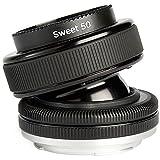 Lensbaby Composer Pro - Objetivo para cámara réflex para Micro 4/3rds (Distancia Focal Fija 50mm, Apertura f/2.5-22) Negro