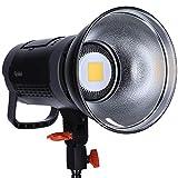 Rollei Soluna II-60 - Lámpara LED de luz continua y vídeo (60 W, conexión Bowens), color blanco