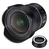 Samyang AF 14mm f/2.8 con autoenfoque para Canon RF + lens station