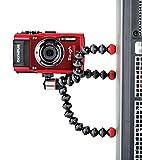 JOBY GorillaPod Magnetic 325 - Trípode Mini Flexible con Pies Magnéticos y Rótula Integrada para Cámaras 360 y Compactas, Peso hasta 325 g, JB01506-BWW