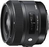 Sigma 30 mm F1.4 DC HSM NA ART - Objetivo para cámara digitales réflex montura Nikon, Negro