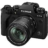 Fujifilm X-T4 16650742 - Kit de cámara con Objetivo XF18-55/2.8-4, Color Negro