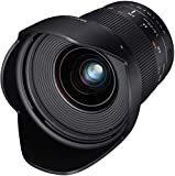 Samyang DSLR - Objetivo fotográfico para Nikon F Ae (20 mm, F1.8 ED, AS UMC), Negro