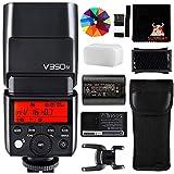 Godox V350N 2.4G HSS 1 / 8000S TTL GN36 2000mAh Ving Master Slave Camera Flash Speedlite para Nikon Camera D5 D4 D70S D90 D100 D200 D300S D300