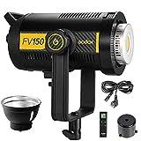 Godox FV150 150W 1/8000 HSS Estudio Flash estroboscópico LED Iluminación Continua Inalámbrica Inalámbrica 2.4G X para Canon Nikon Sony Fuji Olympus Panasonic Camera (FV150)
