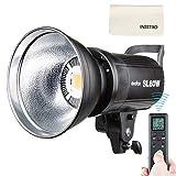 Godox SL-60 W 60 W LED Estudio, 5600 K, iluminación continua con soporte Bowens, para exterior, DSLR