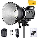 Godox MS300 300WS Flash de estudio estroboscópico 2.4G inalámbrico, ligero, compacto y duradero, tiempo de reciclado de 0,1 a 1,8 s, con 150 W para iluminación de estudio de fotografía