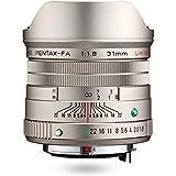 HD PENTAX-FA 31mmF1.8 Limitada Plata Limitada Lente Gran Angular Primero, Revestimiento HD de Alto Rendimiento, Recubrimiento SP, Diafragma Redondo, Cuerpo de Aluminio mecanizado