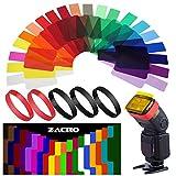 Zacro 20 filtros de corrección de color para cámara Speedlite y adecuado para principiantes con instrucciones (idioma español no garantizado).