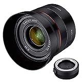 Samyang 45mm f/1.8 para Sony E-mount + lens station valorado en 60€