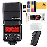 Godox TT350O 2,4 G HSS 1/8000s TTL GN36 Camara Flash Speedlite para Olympus/Panasonic E-M10II,E-M5II,E-M1,E-PL8,E-PL7,E-PL6,E-PL5,DMC-CX85,DMC-G7,DMC-GF1,DMC-LX100 Mirrorless Digital Camera(TT350o)