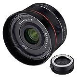 Samyang AF 24mm f/2.8 FE para Sony E +  lens station para actualización de firmware