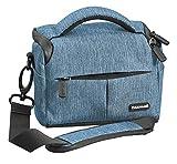 Cullmann 90283 Malaga Vario 200 - Funda para cámara con Correa, Color Azul