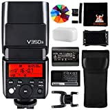 Godox V350N 2.4G HSS 1 / 8000S TTL GN36 2000mAh Ving Li-Ion Master Slave Camera Flash Speedlite para Nikon Camera D5 D4 D70S D90 D100 D200 D300S D300