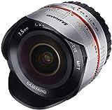 Samyang 7.5mm f/3.5 UMC Fisheye, Lente Ojo de Pez para Micro Cuatro Tercios, Gris