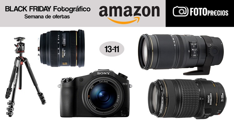 Black Friday fotográfico: 13-11.