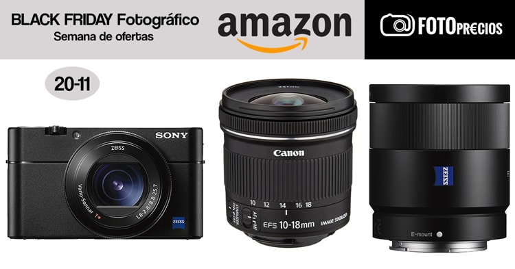 Black Friday fotográfico: 20-11.