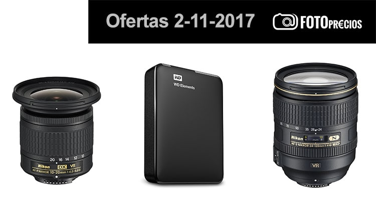 Ofertas fotográficas 2-11-2017