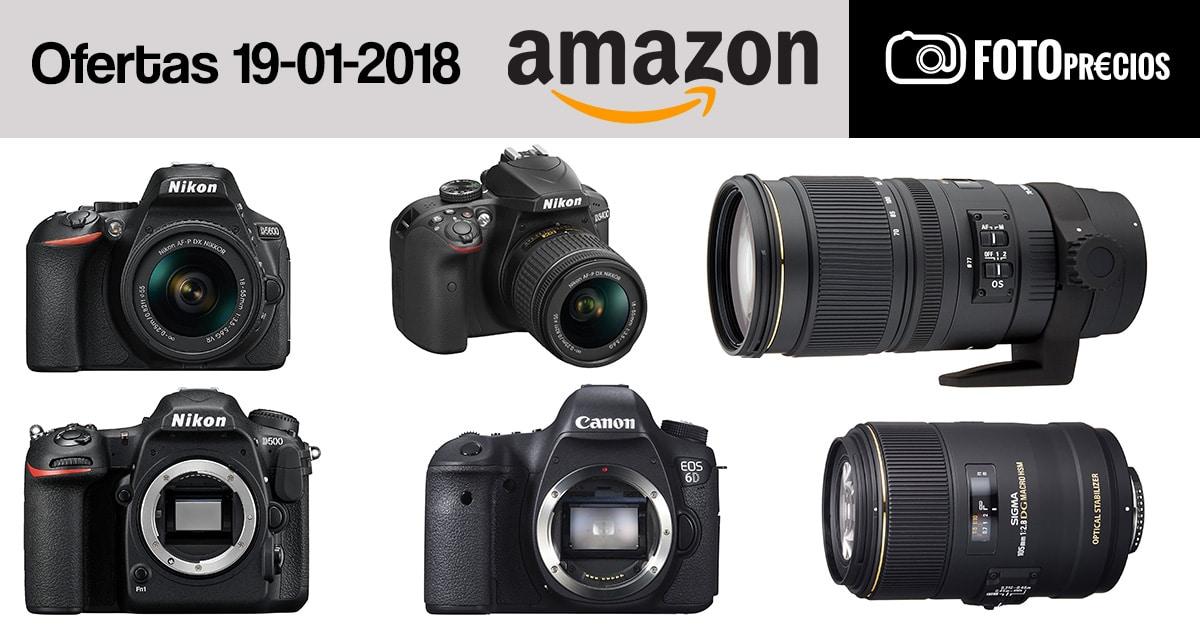 Ofertas fotográficas del 19 de enero.