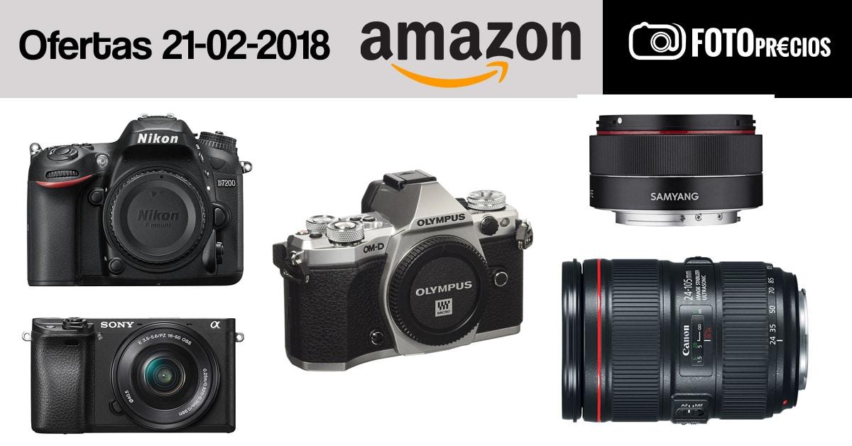 Ofertas fotográficas del 20 de febrero.