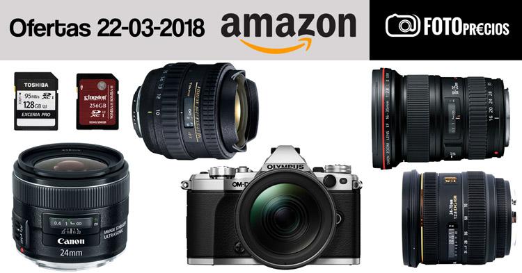 Ofertas fotográficas del 22 de marzo.