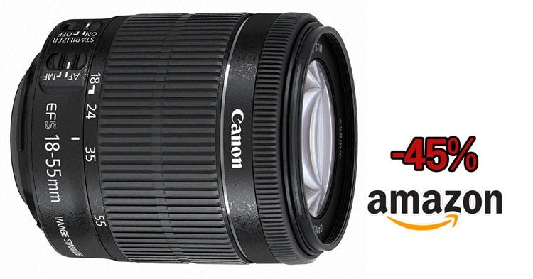 Precio mínimo Canon 18-55mm STM