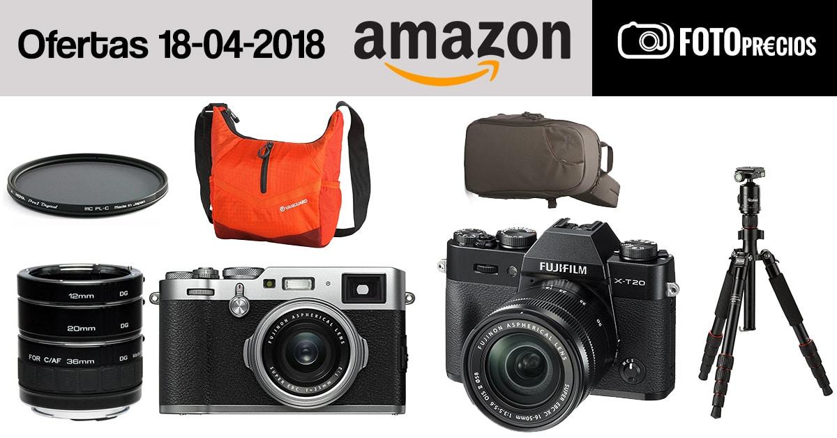 Ofertas fotográficas del 18 de abril.