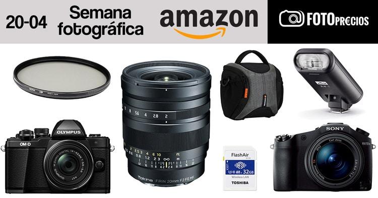 Semana de la fotografía de Amazon, Tokina Firin 20mm MF.