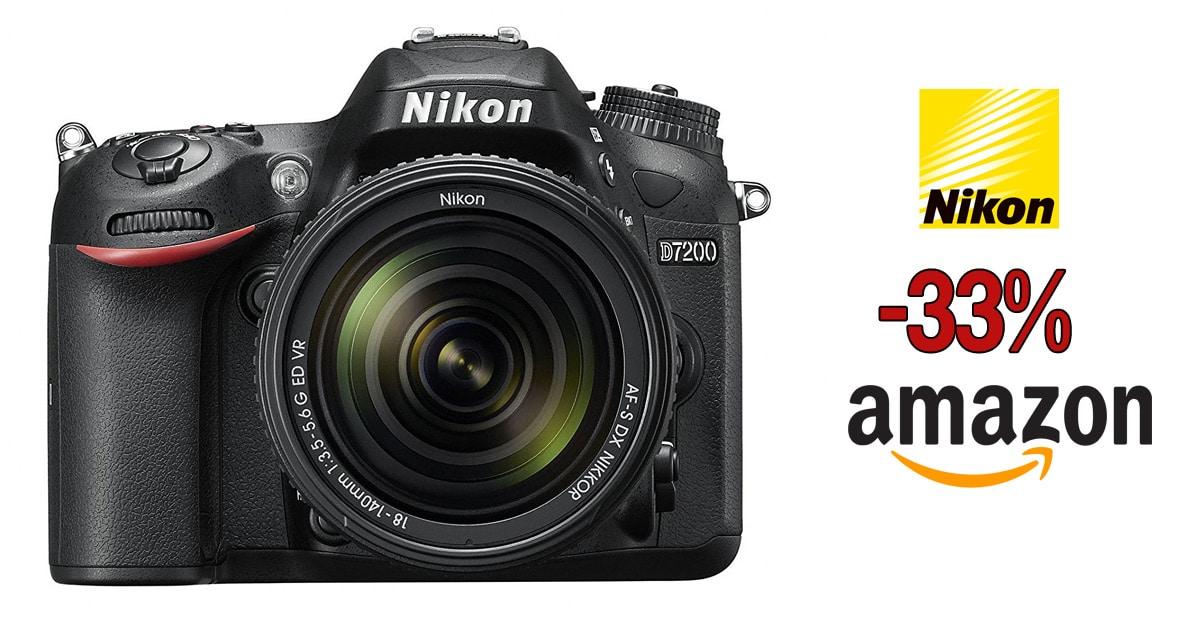 Nikon D7200 + 18-140mm en oferta.