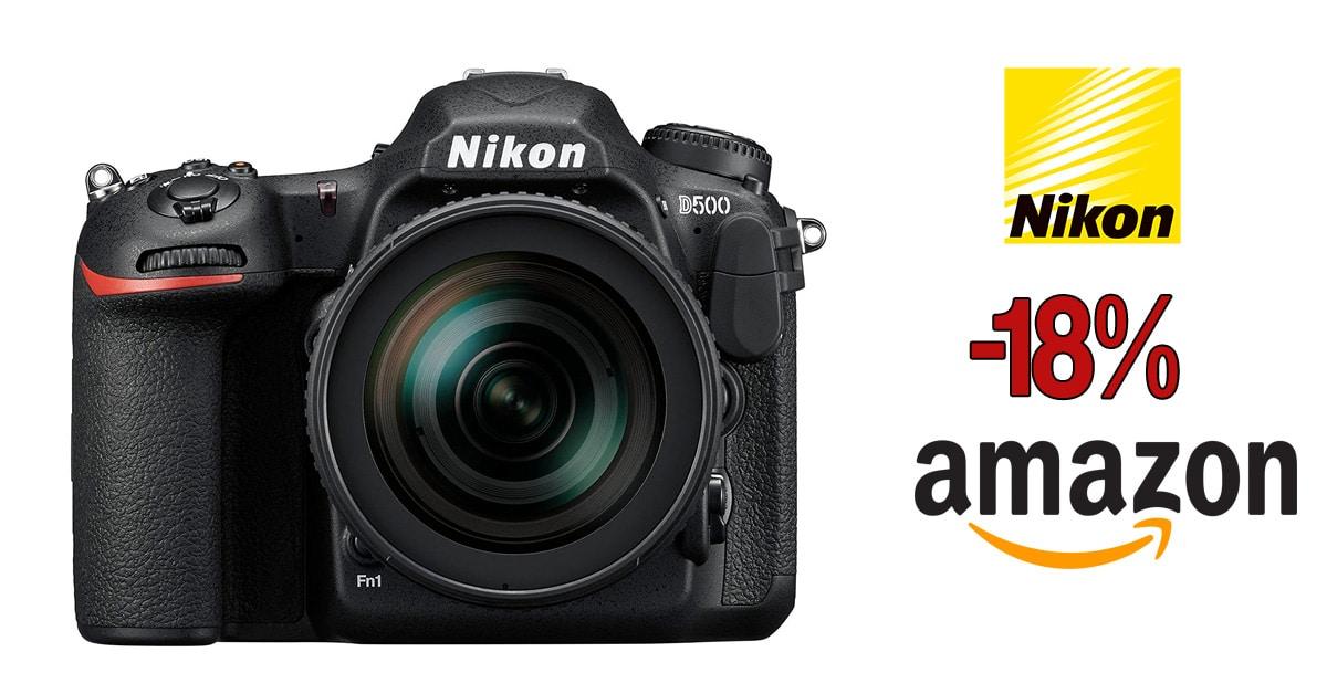 Nikon D500 oferta en Amazon.