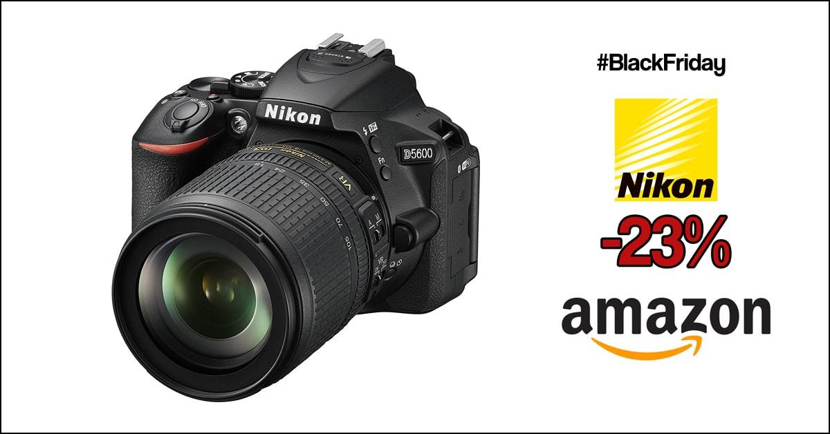 Nikon D5600 + 18-105mm precio mínimo