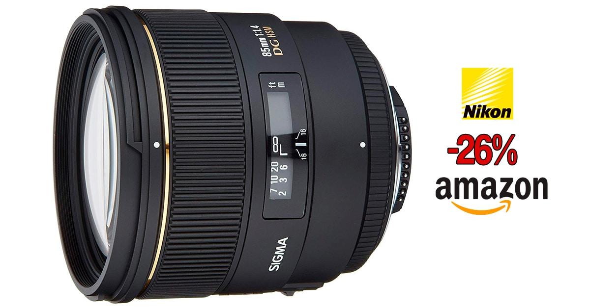Sigma 85mm f/1.4 EX Nikon oferta.