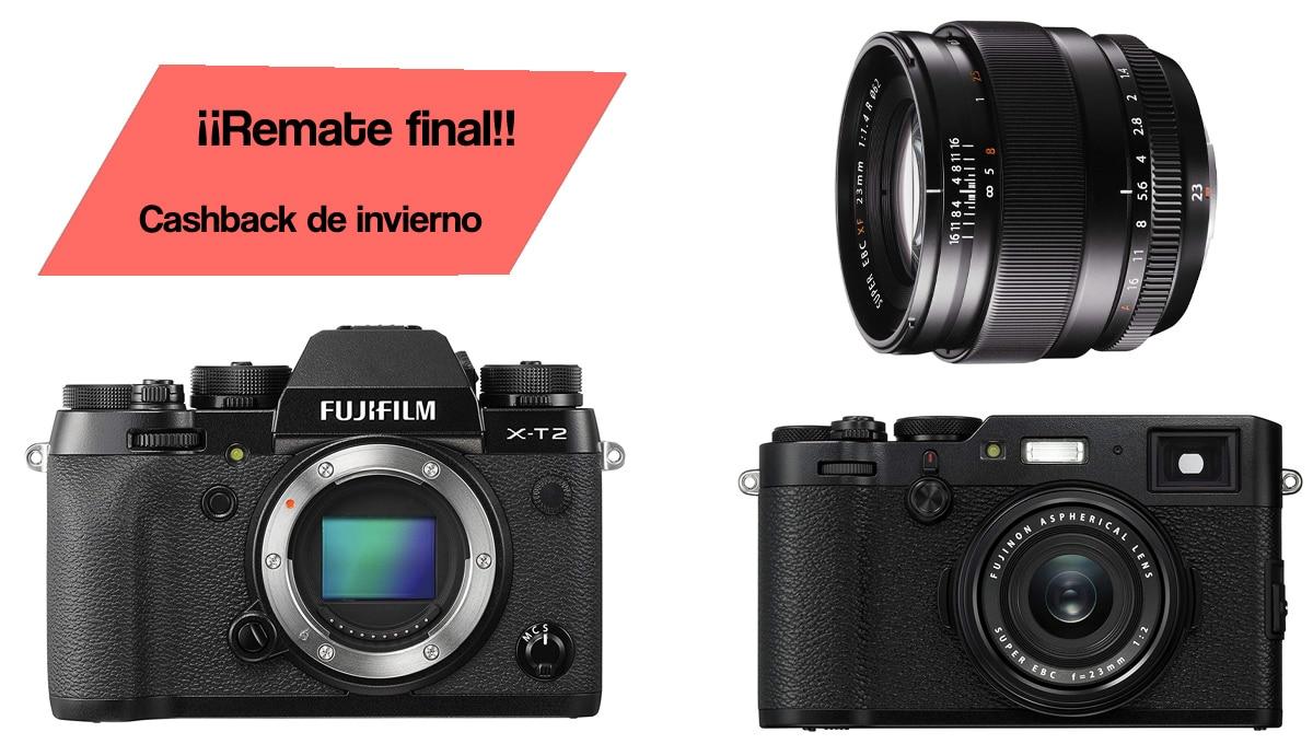 Remate final Fujifilm.