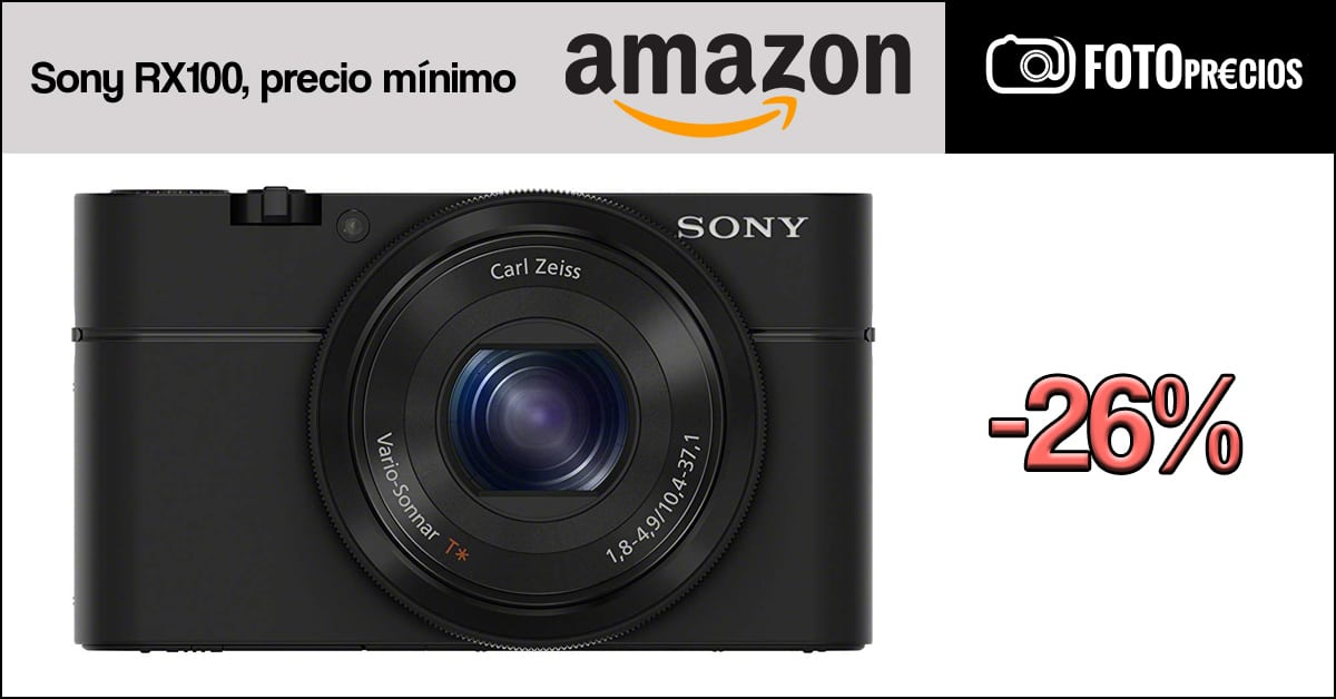 Sony RX100 precio mínimo.