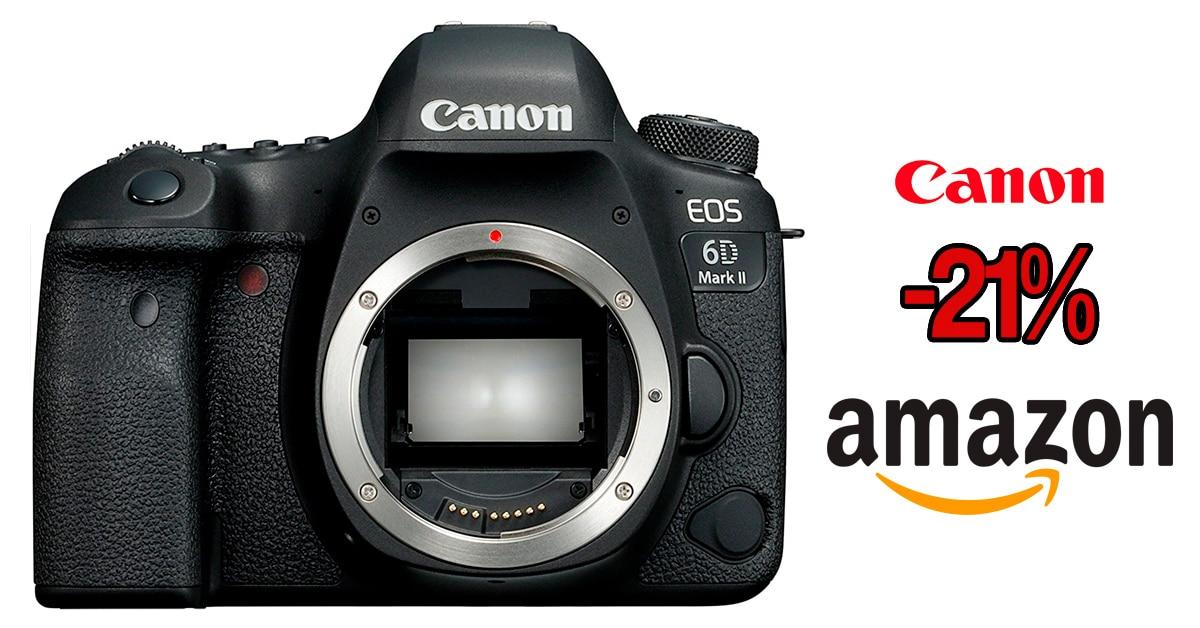 Oferta Canon 6D Mark II.