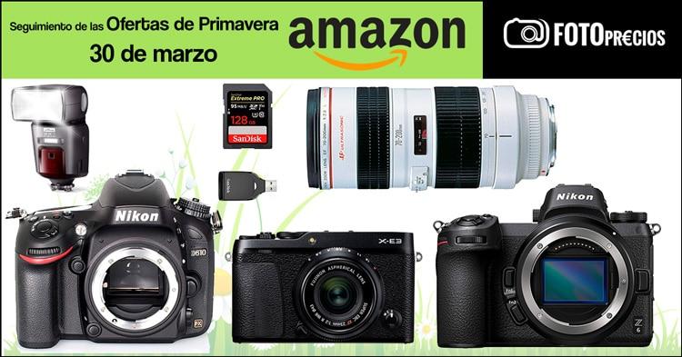 Seguimiento ofertas de primavera Amazon, 30 de marzo.