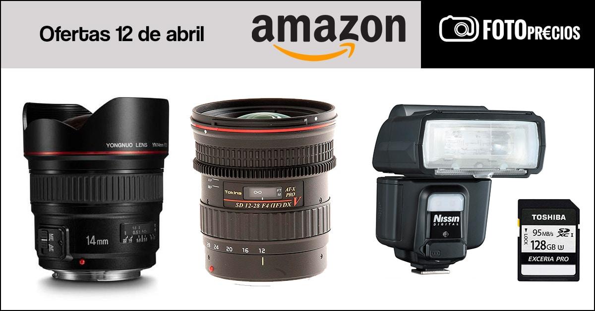 Foto-precios mínimos en Amazon del 12 de abril.