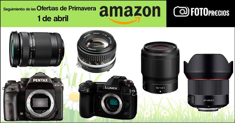 Seguimiento ofertas de primavera Amazon, 1 de abril.