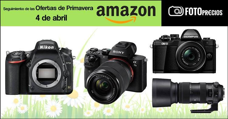 Seguimiento ofertas de primavera Amazon, 4 de abril.