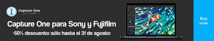 Capture One Fuji y Sony al 50%.