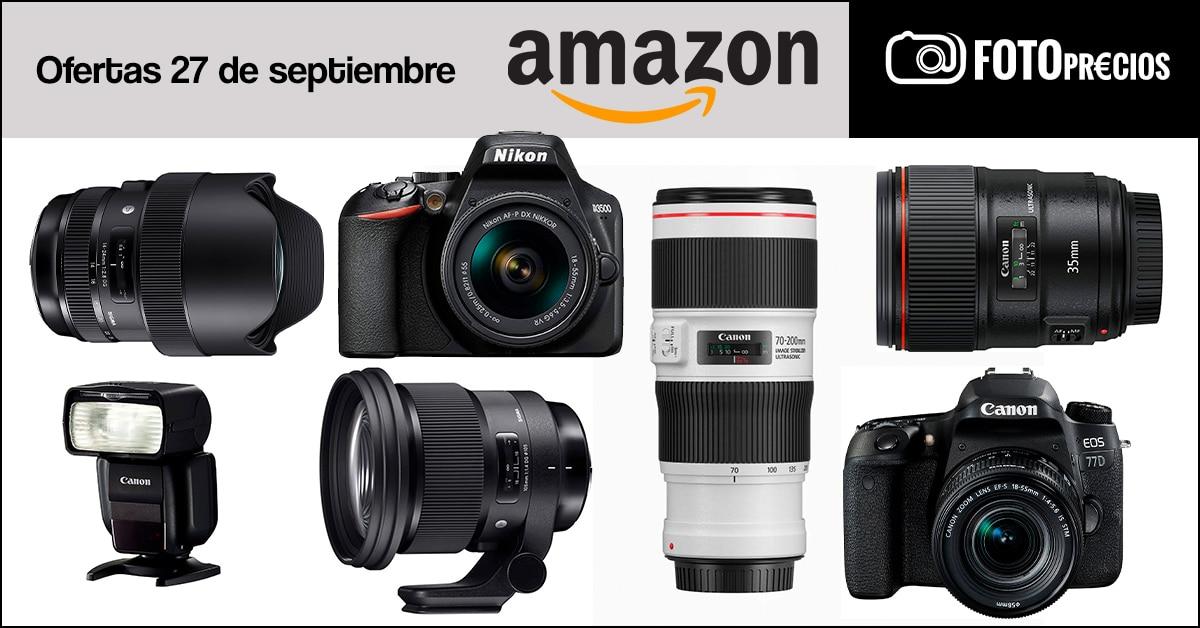Foto-ofertas del 27 de septiembre Canon y Nikon.