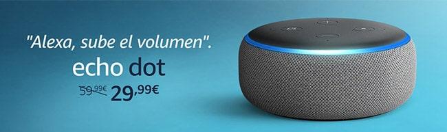 Ofertas Alexa Echo DOT.