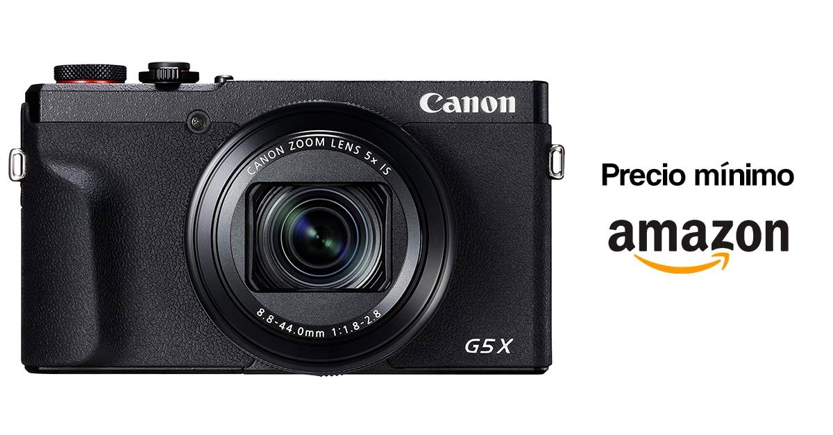Precio mínimo Canon G5 X Mark II en Amazon.