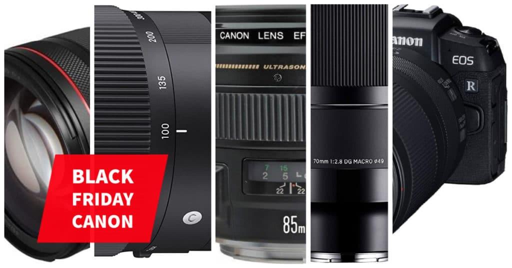 Ofertas de fotografía del Black Friday 2020 para Canon.