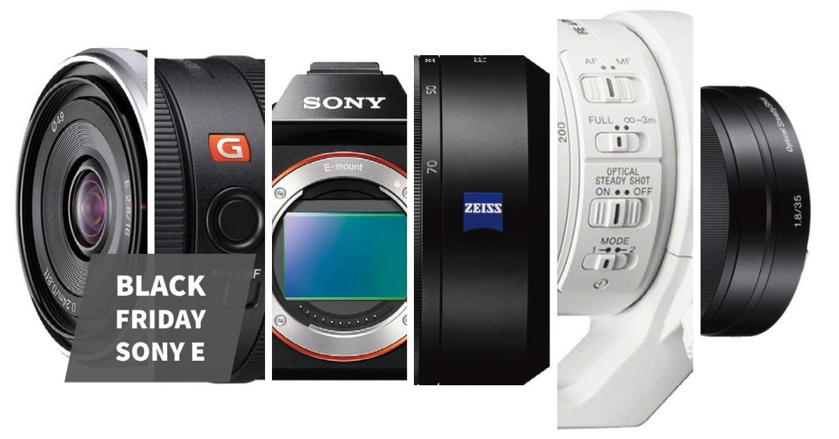 Mejores Ofertas Black Friday Sony E 2020.