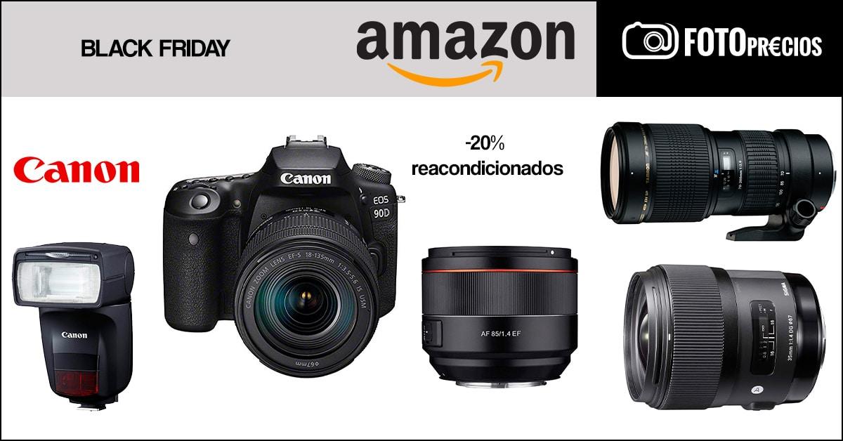 REacos -20% Canon Black Friday